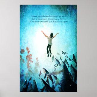 Immerse Ocean Poster