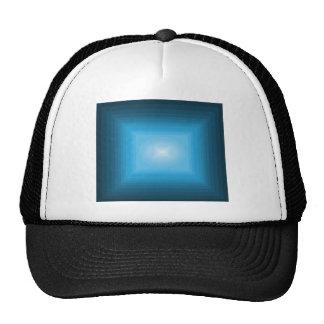 Immersed in Blue Modern Art Design CricketDiane Hats