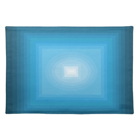 Immersed in Blue Modern Art Design CricketDiane Placemat