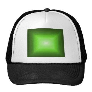 Immersed in Green Modern Art Design CricketDiane Trucker Hats
