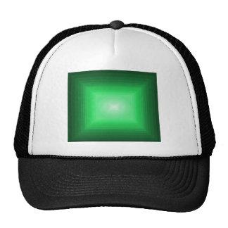 Immersed in Green Modern Art Design CricketDiane Trucker Hat