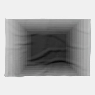 Immersed in Grey Modern Art Design CricketDiane Tea Towel
