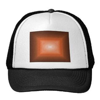 Immersed in Orange Modern Art Design CricketDiane Mesh Hats