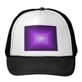 Immersed in Purple Modern Art Design CricketDiane Mesh Hats