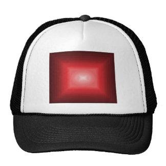 Immersed in Red Modern Art Design CricketDiane Mesh Hat