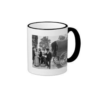 Immigrants at Battery Park 1900 Coffee Mug