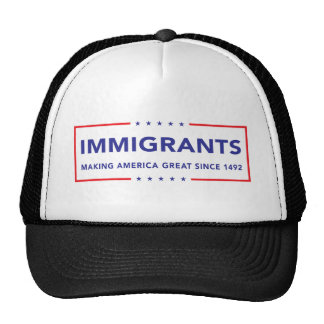 Immigrants Cap