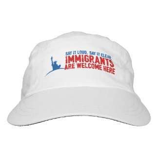 Immigrants Welcome Performance Hat