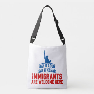 Immigrants Welcome Sling Bag
