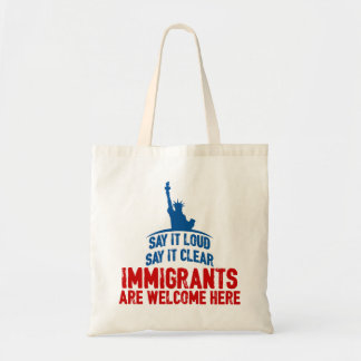 Immigrants Welcome Tote Bag