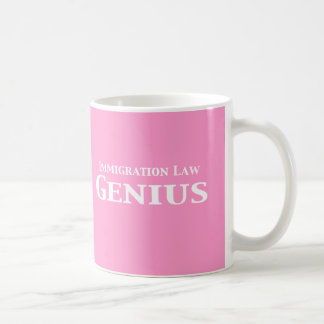 Immigration Law Genius Gifts Coffee Mug