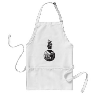 Immigration to the new world standard apron