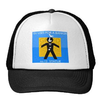 immortalised...vandalised... occupy wall street trucker hat