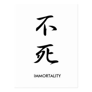 Immortality - Fushi Postcard