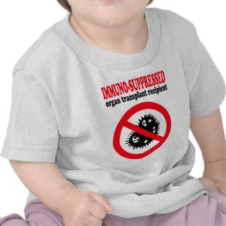 Immuno-suppressed organ transplant recipient t-shirts