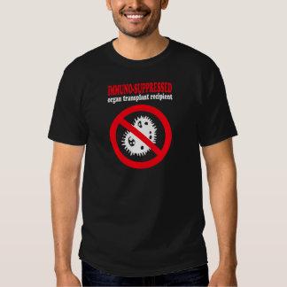 Immuno-suppressed organ transplant recipient tshirt