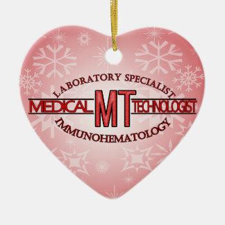 IMMUNOHEMATOLOGY SPECIALIST MT MEDICAL TECHNOLOGIS CHRISTMAS ORNAMENT