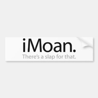 iMoan Bumper Sticker