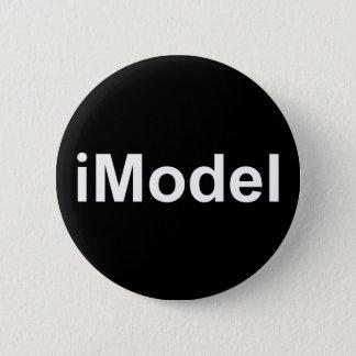 iModel not iPhone or iPad fun witty humorous Badge