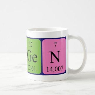 Imogen periodic table name mug