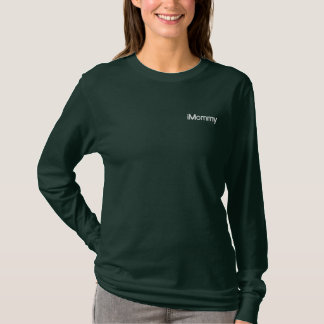 iMommy Embroidered Long Sleeve T-Shirt