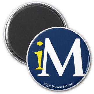 iMonticello Round Logo Design Magnet