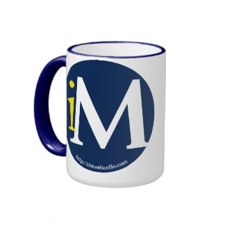 iMonticello Round Logo Design Mug