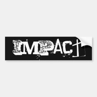 IMPACT BUMPER STICKER