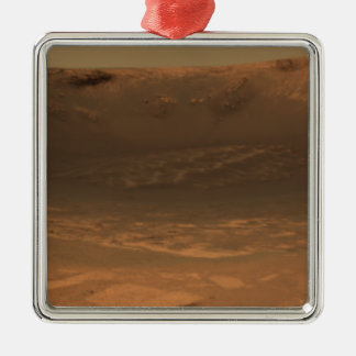 Impact crater Endurance on the surface of Mars Christmas Ornament