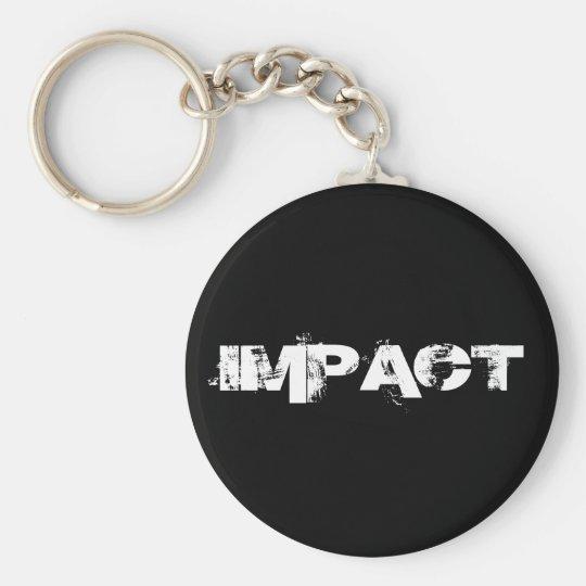 IMPACT - Customised Basic Round Button Key Ring