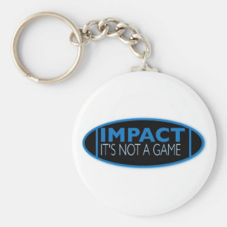 IMPACT Keyring Basic Round Button Key Ring