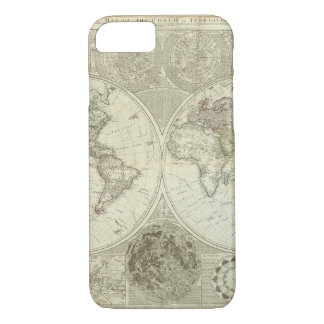Impaired World Map 25 iPhone 8/7 Case