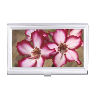 Impala Lily (Adenium Multiflorum), Kruger Business Card Holder