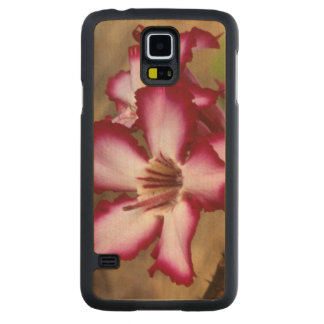 Impala Lily (Adenium Multiflorum), Kruger Carved Maple Galaxy S5 Case