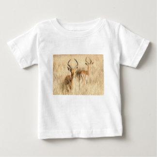 Impala  Rooibok Aepyceros melampus oil paint effec Baby T-Shirt