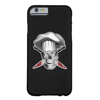 Impaled Chef Skull v4 Barely There iPhone 6 Case