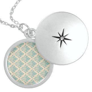 Impartial Vibrant Lucky Wondrous Round Locket Necklace