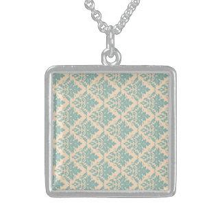 Impartial Vibrant Lucky Wondrous Square Pendant Necklace