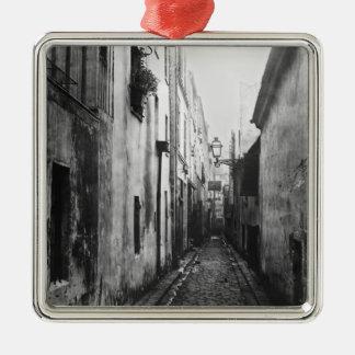 Impasse Briard, from cite Coquenard, Paris Christmas Ornament