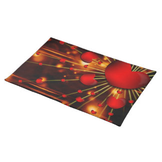 Impassioned Hearts Placemats