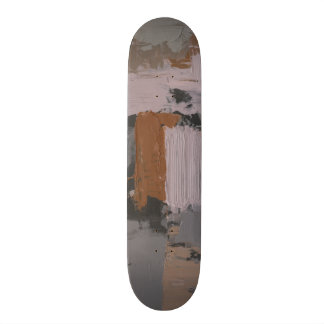 Impasto Abstract I 21.3 Cm Mini Skateboard Deck
