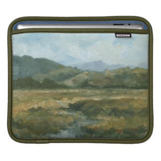 Impasto Landscape III Sleeve For iPads