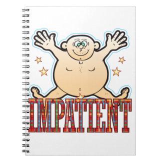 Impatient Fat Man Notebook