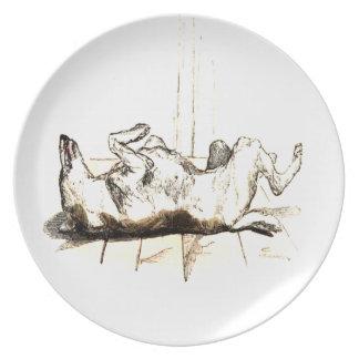 Impawtance of meditation plate