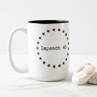 Impeach 45! Coffee mug