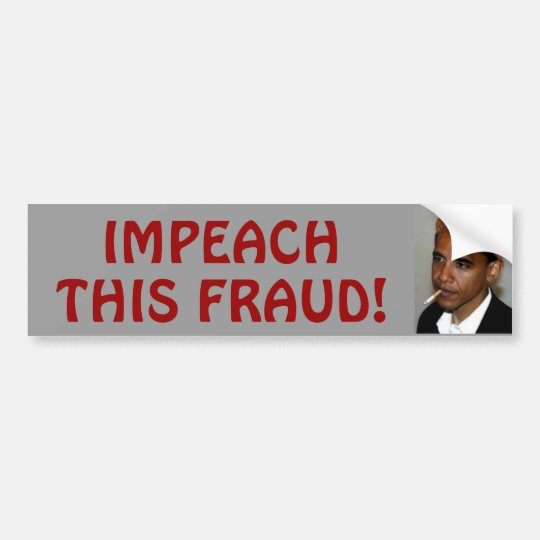 Impeach Bumper Sticker