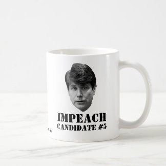 Impeach Candidate #5 Basic White Mug