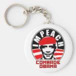Impeach Comrade Obama Keychains