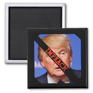 Impeach Donald Trump Button Magnet
