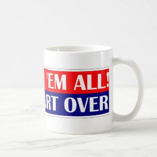 Impeach em all, Let's Start Over. Basic White Mug
